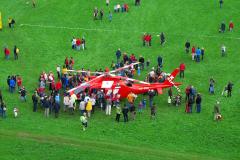 Hubschrauber Ebnat Kappel